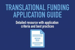 translational funding application guide