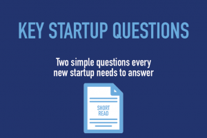 Key startup questions